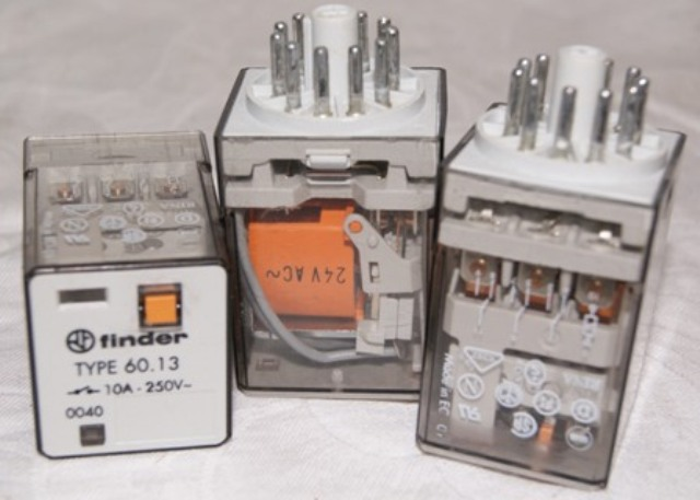3x-finder-Relais-60-13-24-V-AC-finder-Relais-60-13-24-V-AC